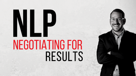 NLP Negotiating for results